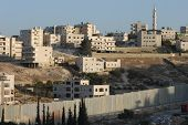Barrier Wall Near Jerusalem
