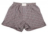 picture of boxer briefs  - Plaid boxer shorts underwear - JPG