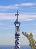 Cross Of Park Guell
