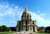 Les Invalides in Paris, chapel Saint Louis des Invalides.
