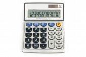 12 Digit Calculator With Clipping Path