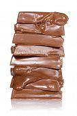 Melting Chocolate Pieces
