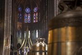 New bells of Notre Dame de Paris cathedral