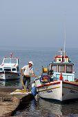 Working Fisherman