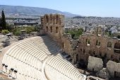 Landscape Of Odeon Of Herodes Atticus