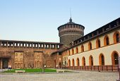 Sforza 's castle in Milan