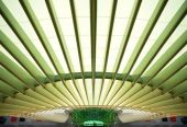 pic of gare  - Modern architecture design in a train station in Lisbon - JPG
