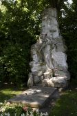The Tomb Of Johann Strauss Ii