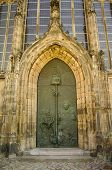 Main Door At Kloster Unser Lieben Frauen In Magdeburg