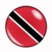 Button Flag Of Trinidad And Tobago