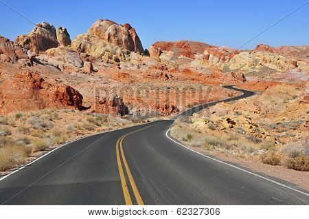 Red Rock Landscape, Southwest USA poster