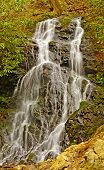 stock photo of cataract  - Cataract Falls in the Smoky Mountain in Spring - JPG
