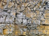 Rock formation background.