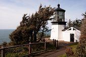 Cape Mears Lighthouse Pacific West Coast Oregon United States