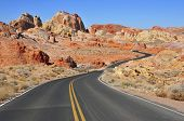 picture of arid  - The Stunning Red Rock Landscape in the Southwest USA - JPG