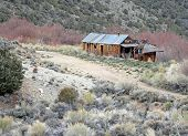 Old Mining Cabin in Western USA
