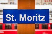 St. Moritz Train Station