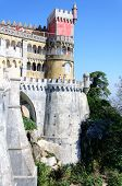 The Pena National Palace In Sintra, Portugal