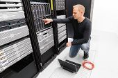 It consultant work with blade servers