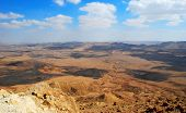 Clouds Over Makhtesh Ramon  Crater