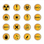 Danger buttons