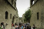 Street Scene In Citadel Of Rhodes, Greece