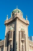 Forum Theatre is a famous landmark of Melbourne with Moorish Revival style exterior. It can be foun