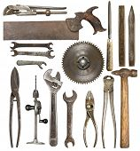 pic of shrew  - Old rusty tools - JPG