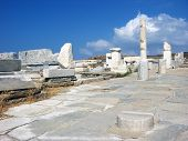 Antic City Delos,greece