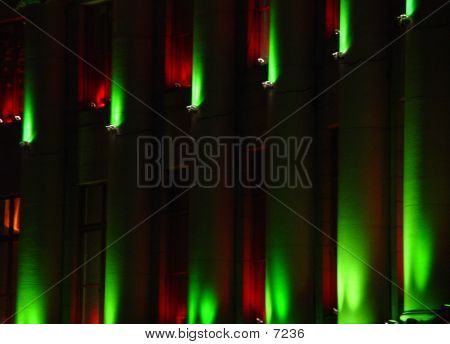 Denver Christmas Colors poster