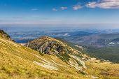 Kasprowy Wierch Summit In The Polish Tatra Mountains
