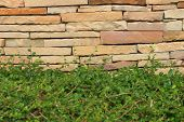 Pattern Of Decorative Stone Wall Surface Or Background