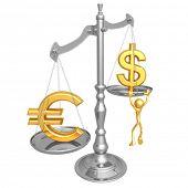 Euro Dollar Scale