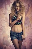 Trendy Teenager Girl