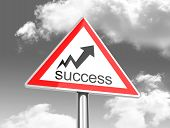 the success sign