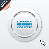 foto of e-cig  - Smoking sign icon - JPG