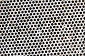 Dot Pattern Of Baked Clay Mesh Filter