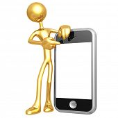 Touch Screen Cellphone Presenter