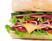 Tasty sandwich.