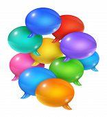 Group Of Speech Bubbles