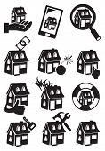 Property Icon Vector Illustration