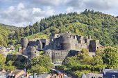 Ruins Of Medieval Castle In La Roche-en-ardenne