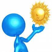 Weather Presenter Sun