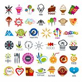 Biggest Collection Of Vector Icons Food