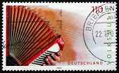 Postage Stamp Germany 2001 Accordion, Musical Instrument