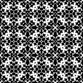 Black - White Seamless Pattern