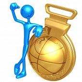 Gold Medal Basketball Winner
