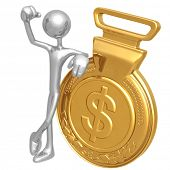 Gold Medal Dollar Winner