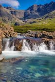 Beautiful Fairy Pools, Isle of Skye
