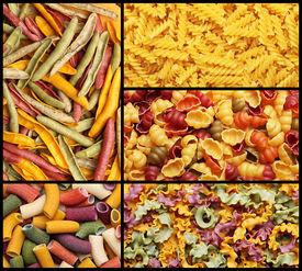 foto of pene  - Image of italian pasta set background texture - JPG